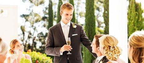 Wedding speech etiquette