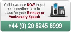 birthday and anniversary speech writer