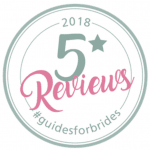 5* reviews on Guides for Brides
