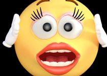 Shocked face
